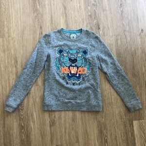 Kenzo Jungle Gray Sweatshirt in M